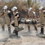 Minefireld_rescue_team_-_Evacuate_wounded_personnel_from_a_minefield_using_Mine_shoes